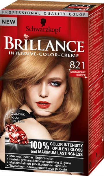 Poly Brillance Straw Blond 821