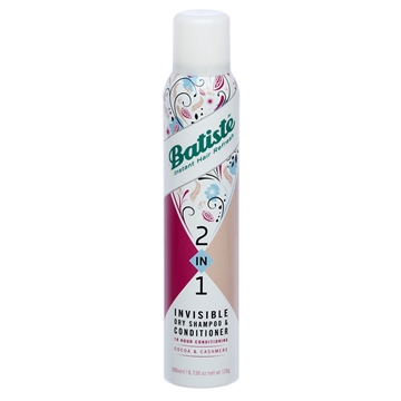 Batiste Dry Shampoo 2 In 1 Cocoa  200ml