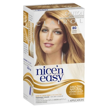 CLAIROL NICE N EASY NATURAL HONEY BLONDE 8G