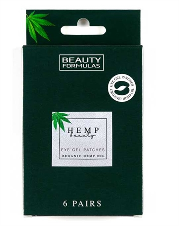 Beauty Formulas Organic Hemp Eye Gel Patches 6Pairs