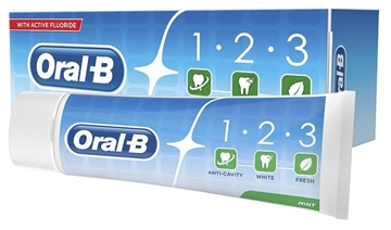 Oral B Toothpaste 123 Fresh Mint  75ml
