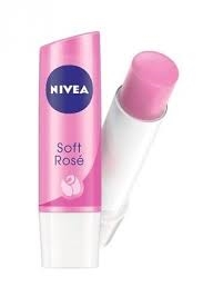 Nivea Lip Care Soft Rose 4.8Gm