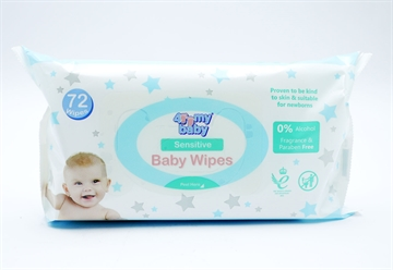 For My Baby Wipes Sensitive 72'S