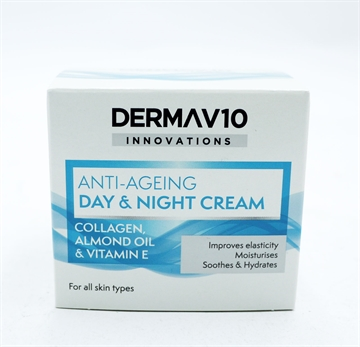 Derma V10 Innovations Day/Night Collagen 50ml