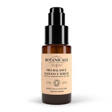 Botanicals Natural Organic Skincare Pro Balance Radiance Serum Green Tea 30g Sensitive, Combination and Oily Skin