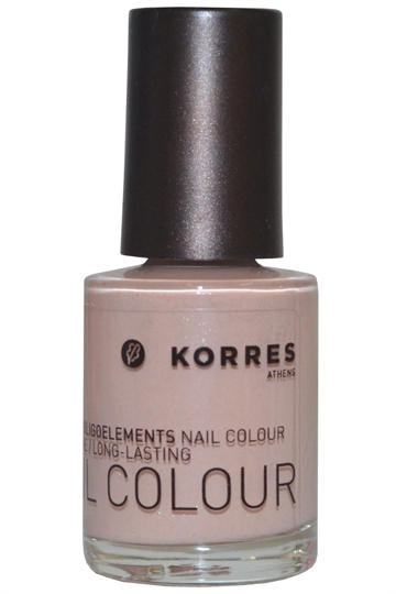 Korres Nail Color High Shine Long Lasting 10ml Metallic Sand #33