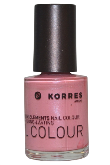 Korres Nail Color High Shine Long Lasting 10ml Sweet Pink #13