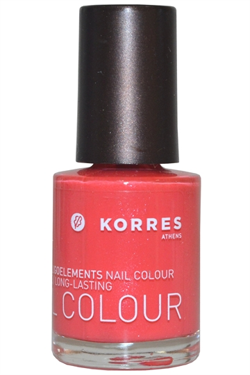 Korres Nail Color High Shine Long Lasting 10ml Grenadine Pink (#49) [7-Free]
