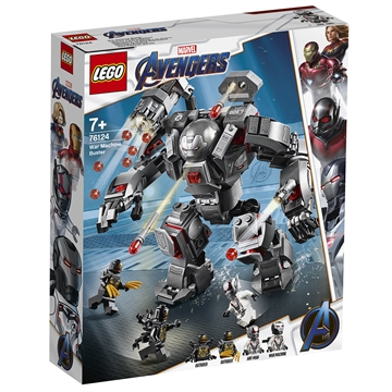 LEGO Avengers War Machine-kamprobot 76124