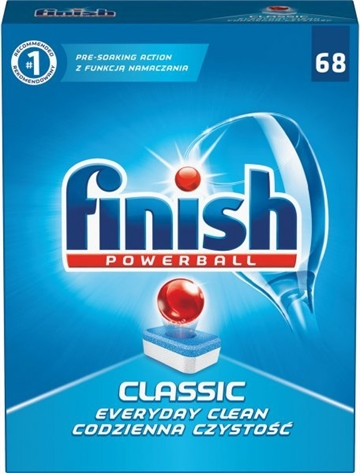 Finish Dishwasher Powerball Tabs 68 Classic