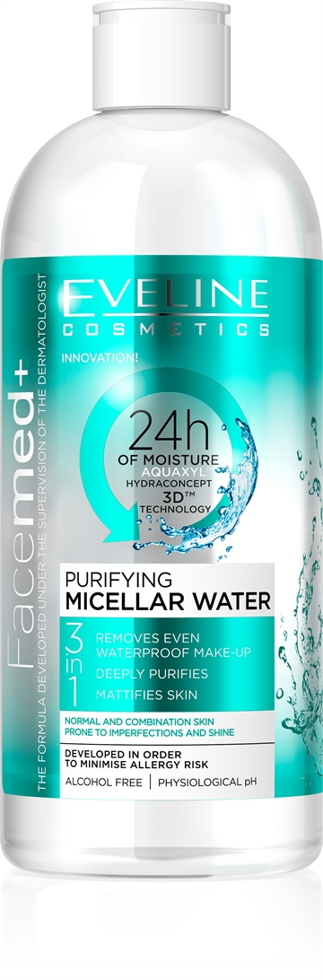 Eveline Facemed+ Purifying Micellar Water 400ml