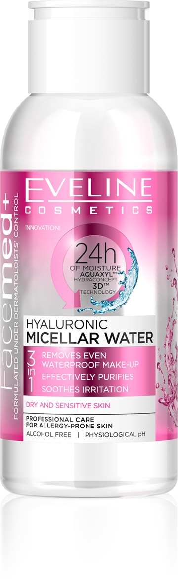 Eveline Facemed+ Hyaluronic Micellar Water Mini 100ml