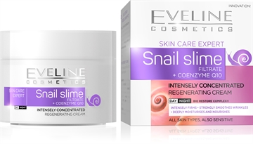 Eveline Snail Slime Filtrate + Coenzyme Q10 Intensely Concentrated Day/Night Cream 50ml