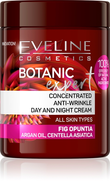 Eveline Botanic Expert Concentrated Anti-Wrinkle Day&Night Cream Fig Opuntia 100ml