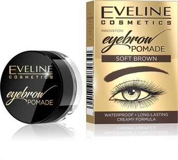 Eveline Eyebrow Pomade Soft Brown