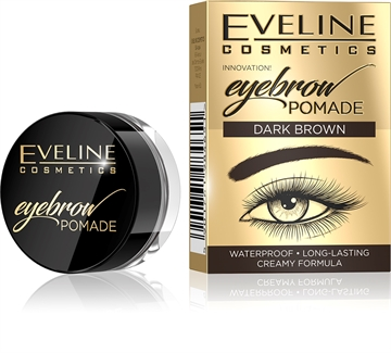 Eveline Eyebrow Pomade Dark Brown