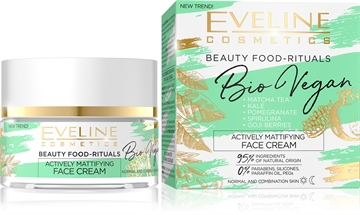 Eveline Bio Vegan Actively Mattifying Day And Night Face Cream 50ml