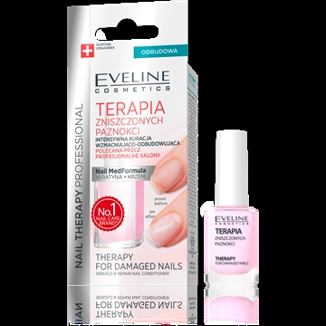 Eveline Nail Therapy For Damaged Nails Rebuild & Repair Conditioner