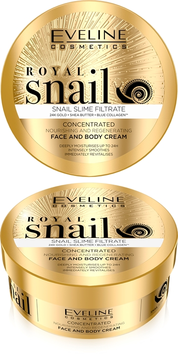 Eveline Royal Snail Concentrated Face And Body Cream 200ml