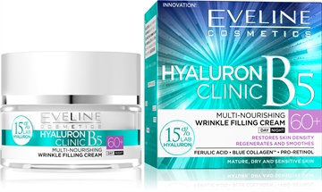 Eveline Hyaluron Clinic Day And Night Cream 60+ 50ml