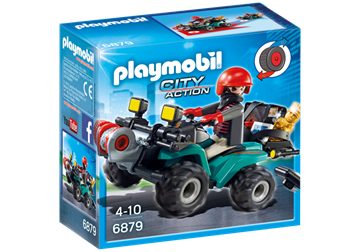 Playmobil Robber's Quad with Loot 6879