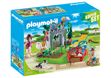 Playmobil Superset Familiehave 70010