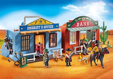 Playmobil Westerncity At Tage Med 70012