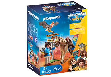 Playmobil:The Movie Marla Med Hest 70072