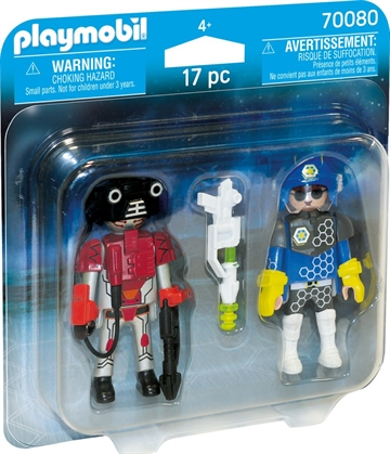 Playmobil Space Policeman and Thief 70080