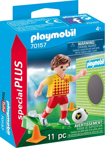 Playmobil Soccer Player with Goal 70157