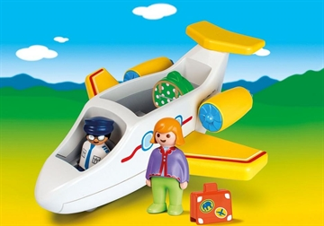 Playmobil Fly med passager 70185