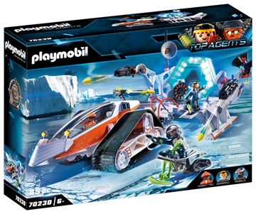Playmobil Spy Team Kommandoslæde 70230