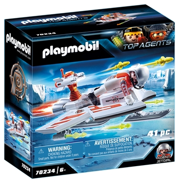 Playmobil Spy Team Drage 70234
