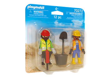 Playmobil To Byggearbejdere 70272