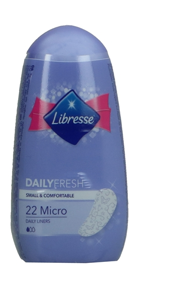 Libresse Dailyfresh Micro 22'S 22 Stk