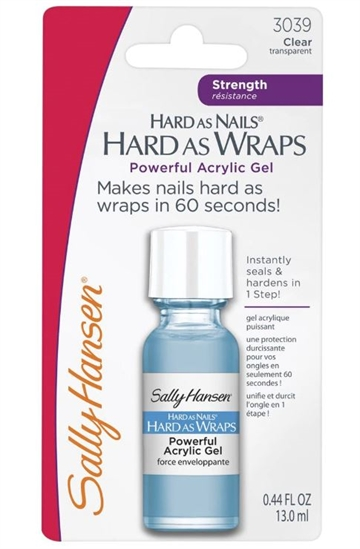 Sally Hansen Hard As Wraps 13.0ml Powerful Acrylic Gel