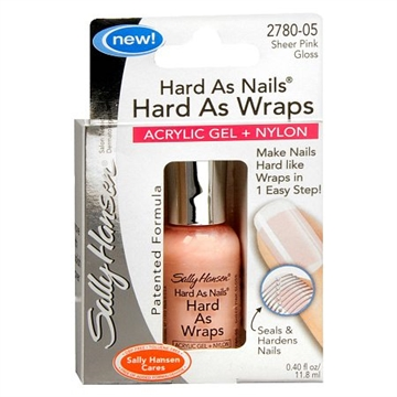 Sally Hansen Hard as Wraps Strength Treatment 11.8ml Sheer Pink