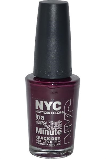 NYC New York Color Quick Dry Nail Polish 9.7ml Manhattan