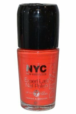 NYC New York Color Expert Last Nail Polish 9.7ml Timeless Tangerine (112)