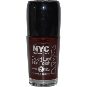 NYC New York Color Expert Last Nail Polish 9.7ml Velvet Rope