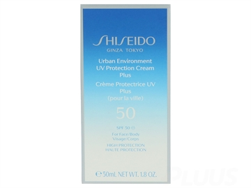 Shiseido Urban Environment Uv Prot.Crm. Plus SPF50 50ml High Protection - For Face/Body