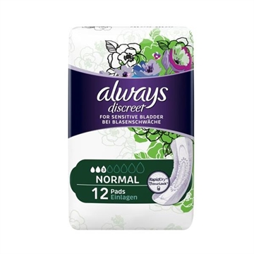 Always Discreet Pads Normal 12S