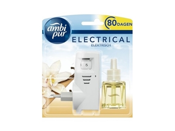 Ambipur Electric Diffuser + Refill 20 ml. Vanilla
