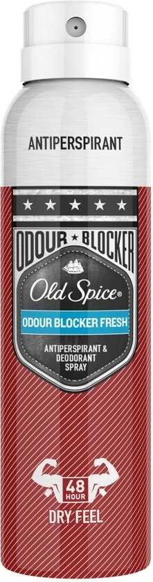 OLD SPICE DEODORANT SPRAY ODOUR BLOCK FRESH 150ML