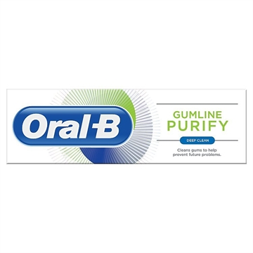 Oral B Toothpaste 75g Purify Gumline Deep Clean