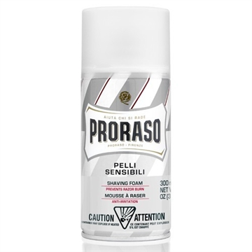 PRORASO WHITE SHAVING FOAM 300ML