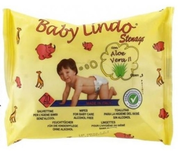 Baby Lindo Baby Wipes 20