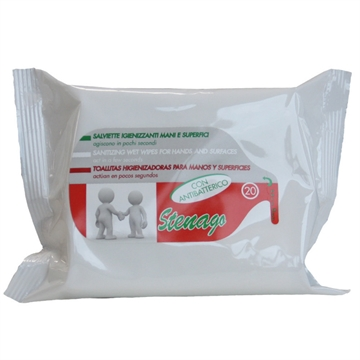 Sanitary Wipes 20 U. Antibacterial