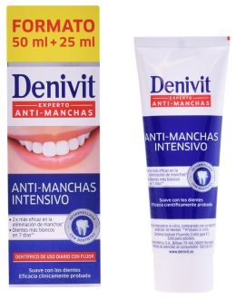 Denivit Toothpaste 50g + 25g Anti-Stain