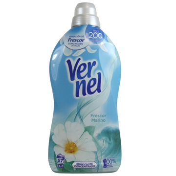 Vernel Concentrated Softener 1,140 L Sea Freshness